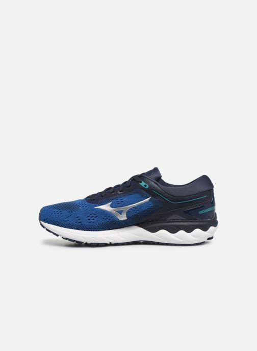 Zapatillas de deporte Mizuno Wave Skyrise Azul vista de frente