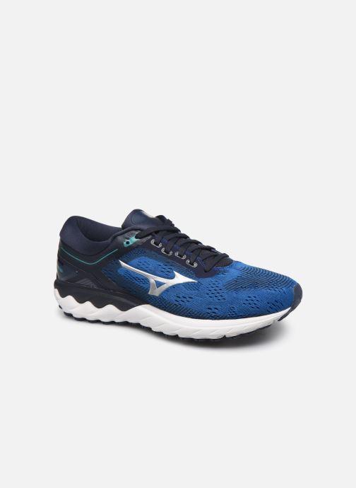 Zapatillas de deporte Mizuno Wave Skyrise Azul vista de detalle / par