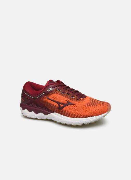 Zapatillas de deporte Mizuno Wave Skyrise Rojo vista de detalle / par