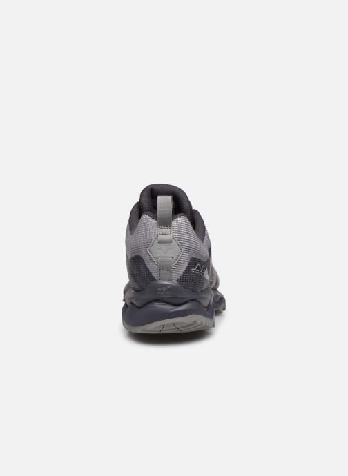 Sport shoes Mizuno Wave Mujin 6 Grey view from the right