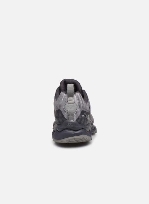 Zapatillas de deporte Mizuno Wave Mujin 6 Gris vista lateral derecha