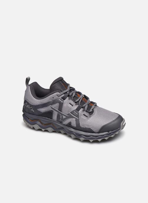 Sport shoes Mizuno Wave Mujin 6 Grey detailed view/ Pair view
