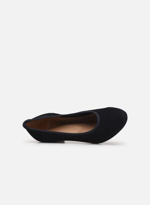 Zapatos de tacón Perlato 11517 Azul vista lateral izquierda