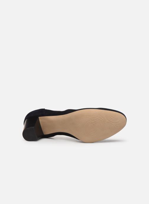 Zapatos de tacón Perlato 11517 Azul vista de arriba