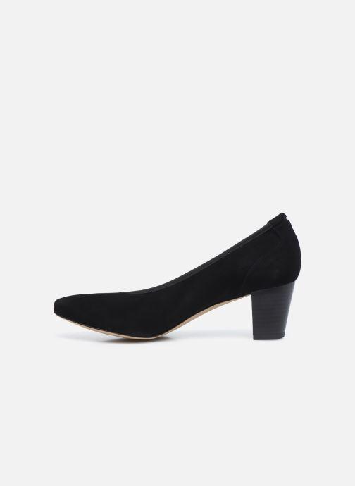 Zapatos de tacón Perlato 11517 Negro vista de frente