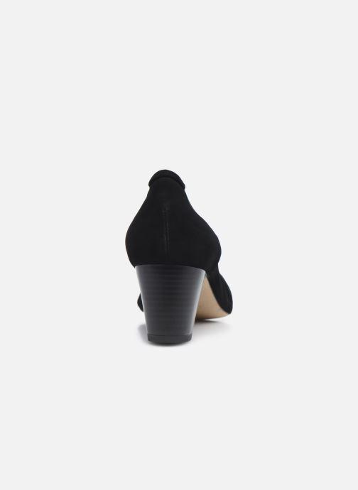 Zapatos de tacón Perlato 11517 Negro vista lateral derecha