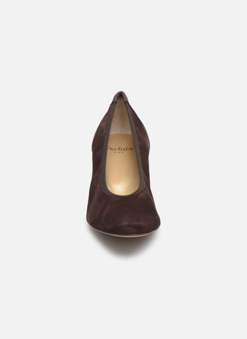 Zapatos de tacón Perlato 11517 Marrón vista del modelo