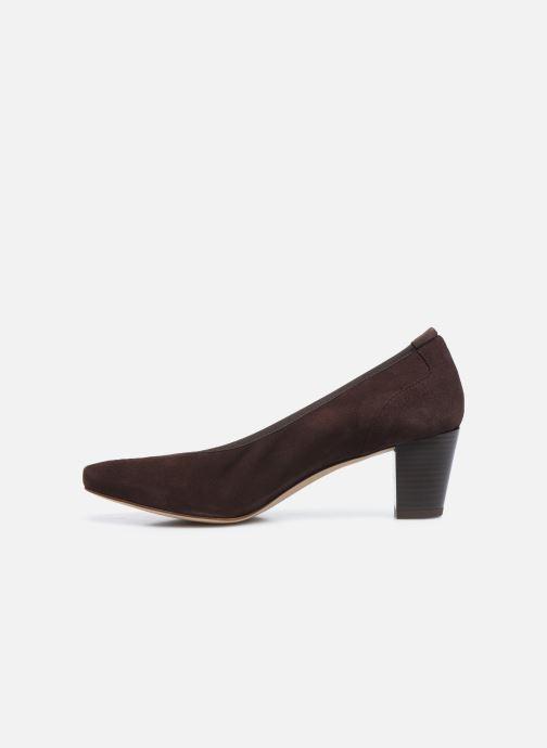 Zapatos de tacón Perlato 11517 Marrón vista de frente