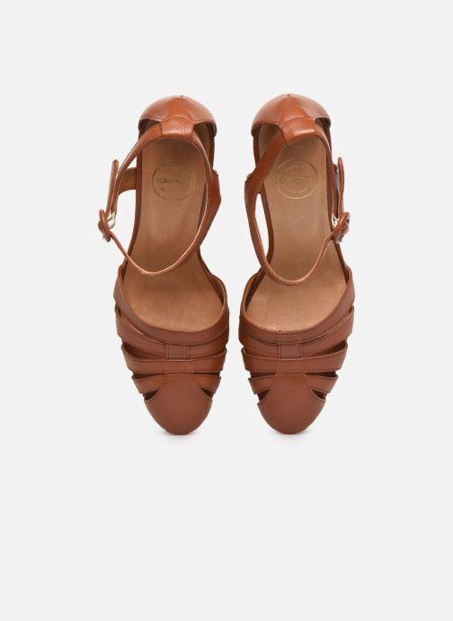 Escarpins Made by SARENZA South Village Escarpin #1 Marron vue portées chaussures