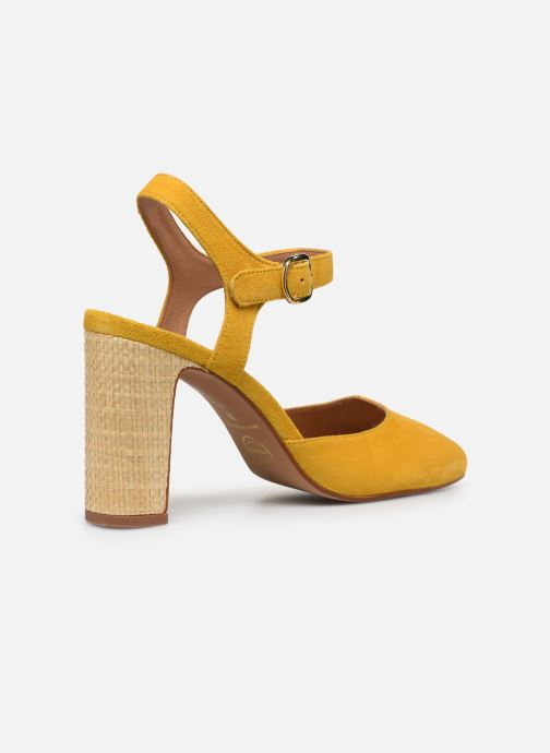 Zapatos de tacón Made by SARENZA South Village Escarpin #2 Amarillo vista de frente