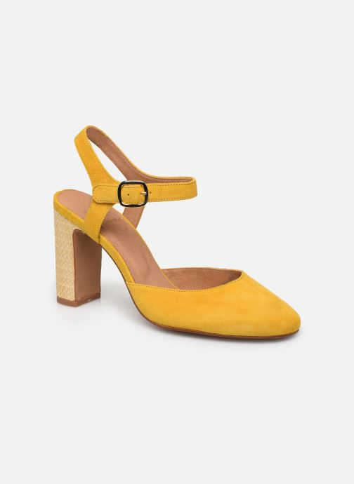 Zapatos de tacón Made by SARENZA South Village Escarpin #2 Amarillo vista lateral derecha