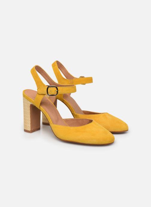 Zapatos de tacón Made by SARENZA South Village Escarpin #2 Amarillo vistra trasera