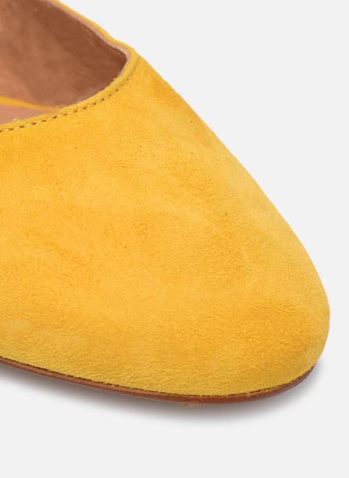 Zapatos de tacón Made by SARENZA South Village Escarpin #2 Amarillo vista lateral izquierda