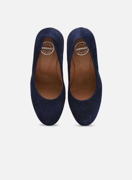 Zapatos de tacón Made by SARENZA South Village Escarpin #5 Azul vista del modelo