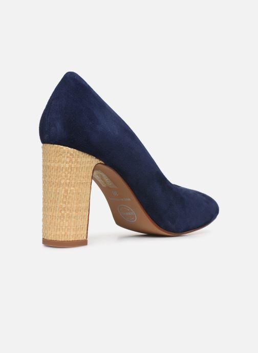 Zapatos de tacón Made by SARENZA South Village Escarpin #5 Azul vista de frente
