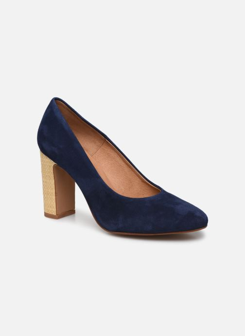 Zapatos de tacón Made by SARENZA South Village Escarpin #5 Azul vista lateral derecha