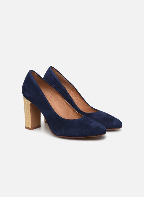 Zapatos de tacón Made by SARENZA South Village Escarpin #5 Azul vistra trasera