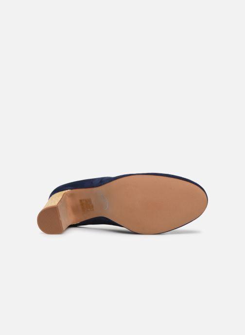 Zapatos de tacón Made by SARENZA South Village Escarpin #5 Azul vista de arriba