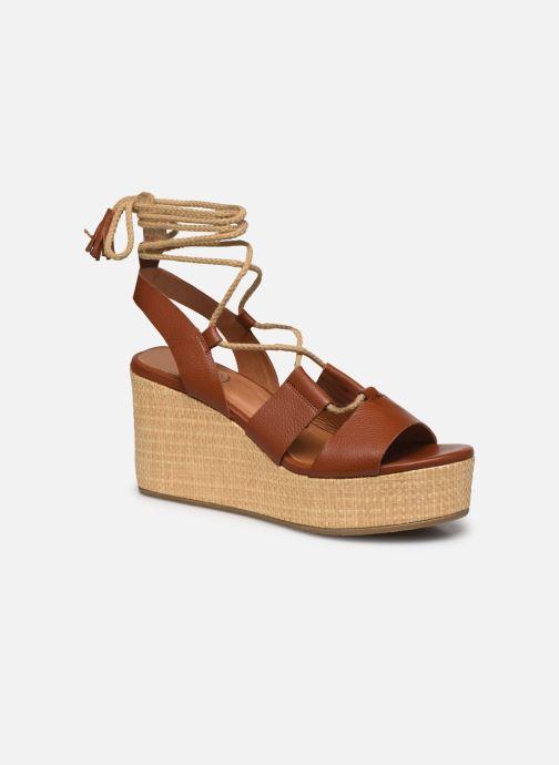 Sandali e scarpe aperte Made by SARENZA South Village Sandales Plates #3 Marrone immagine destra