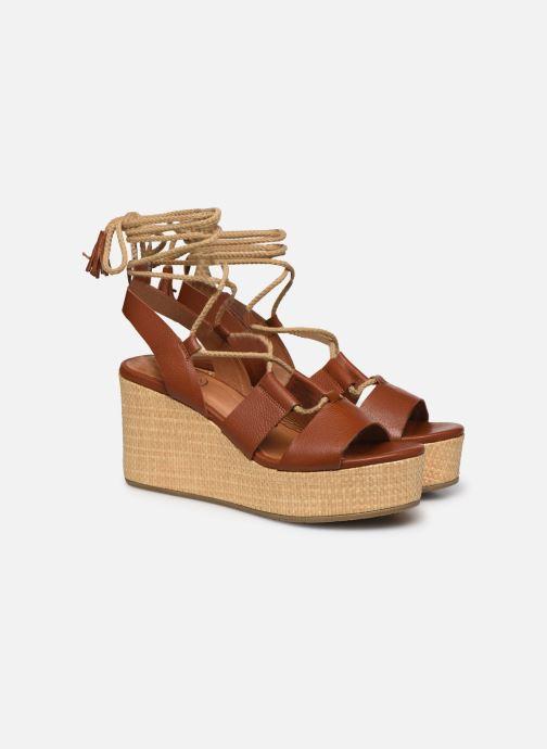 Sandali e scarpe aperte Made by SARENZA South Village Sandales Plates #3 Marrone immagine posteriore