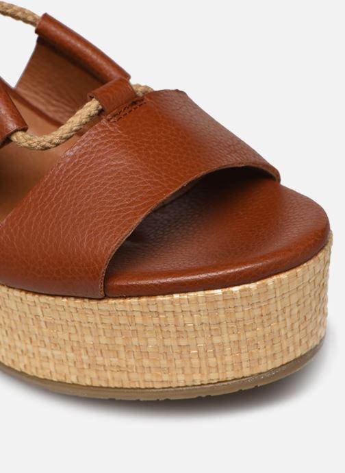 Sandali e scarpe aperte Made by SARENZA South Village Sandales Plates #3 Marrone immagine sinistra