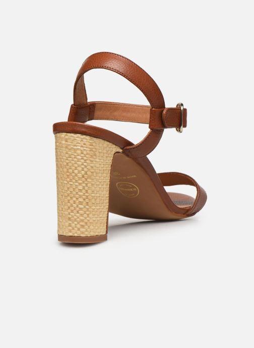 Sandali e scarpe aperte Made by SARENZA South Village Sandales à Talons #4 Marrone immagine frontale