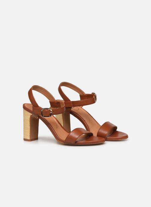 Sandali e scarpe aperte Made by SARENZA South Village Sandales à Talons #4 Marrone immagine posteriore