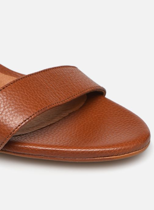 Sandali e scarpe aperte Made by SARENZA South Village Sandales à Talons #4 Marrone immagine sinistra