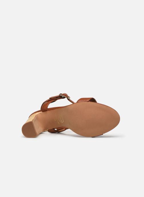 Sandali e scarpe aperte Made by SARENZA South Village Sandales à Talons #4 Marrone immagine dall'alto