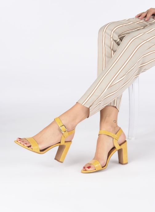 Sandali e scarpe aperte Made by SARENZA South Village Sandales à Talons #4 Giallo immagine dal basso