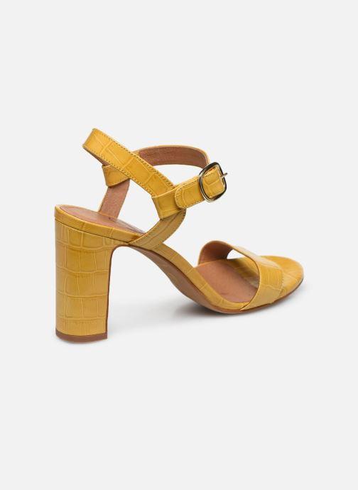 Sandali e scarpe aperte Made by SARENZA South Village Sandales à Talons #4 Giallo immagine frontale