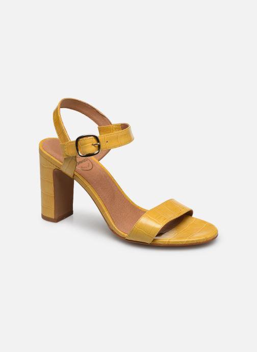 Sandali e scarpe aperte Made by SARENZA South Village Sandales à Talons #4 Giallo immagine destra