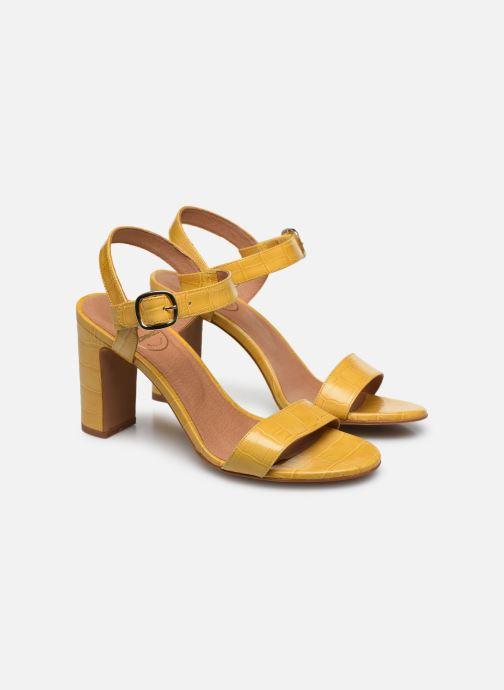 Sandali e scarpe aperte Made by SARENZA South Village Sandales à Talons #4 Giallo immagine posteriore