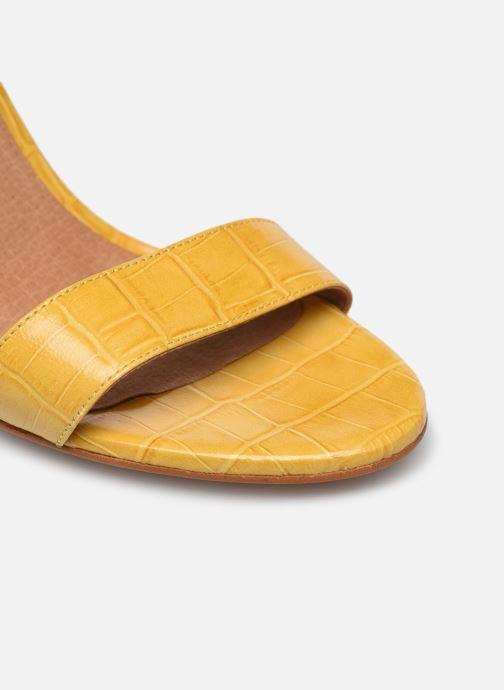 Sandalen Made by SARENZA South Village Sandales à Talons #4 Geel links