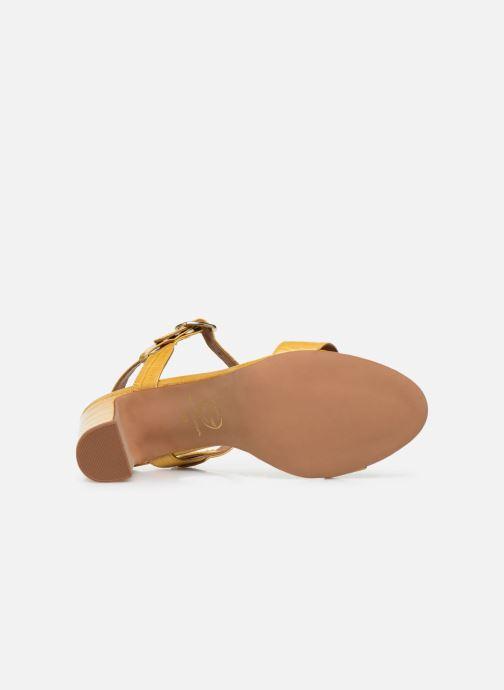 Sandalen Made by SARENZA South Village Sandales à Talons #4 Geel boven