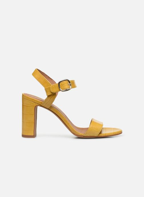 Sandales et nu-pieds Made by SARENZA South Village Sandales à Talons #4 Jaune vue détail/paire