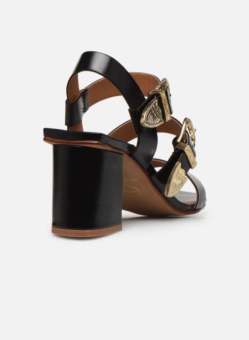Sandali e scarpe aperte Made by SARENZA Summer Folk Sandales à Talons 1 Nero immagine frontale
