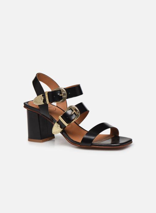 Sandali e scarpe aperte Made by SARENZA Summer Folk Sandales à Talons 1 Nero immagine destra
