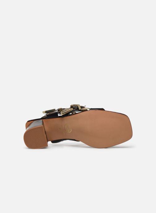 Sandali e scarpe aperte Made by SARENZA Summer Folk Sandales à Talons 1 Nero immagine dall'alto