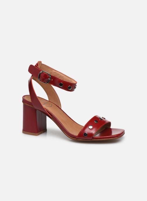 Sandales et nu-pieds Made by SARENZA Summer Folk Sandales à Talons 2 Rouge vue droite