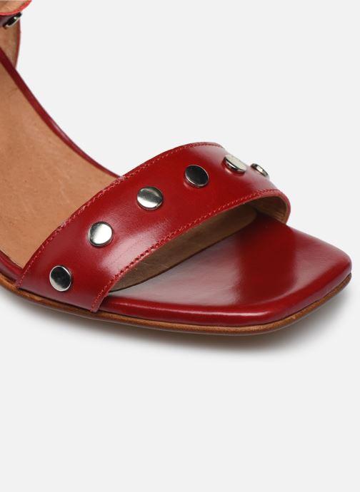 Sandales et nu-pieds Made by SARENZA Summer Folk Sandales à Talons 2 Rouge vue gauche