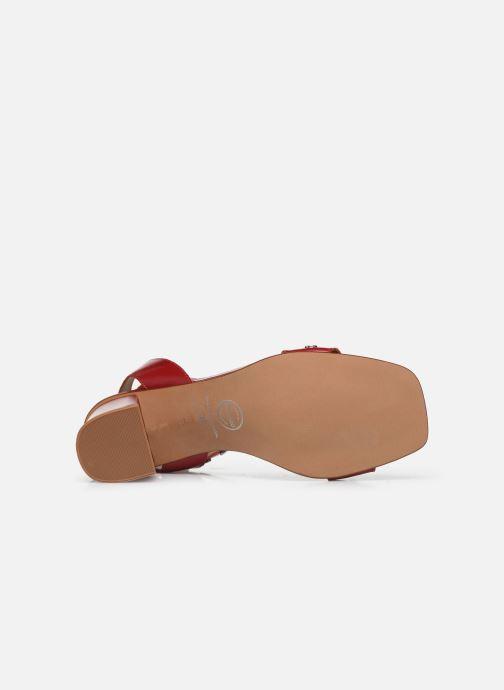 Sandales et nu-pieds Made by SARENZA Summer Folk Sandales à Talons 2 Rouge vue haut