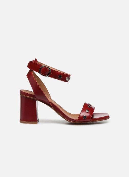 Sandales et nu-pieds Made by SARENZA Summer Folk Sandales à Talons 2 Rouge vue détail/paire