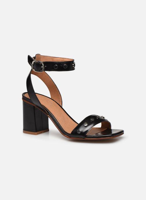 Sandali e scarpe aperte Made by SARENZA Summer Folk Sandales à Talons 2 Nero immagine destra