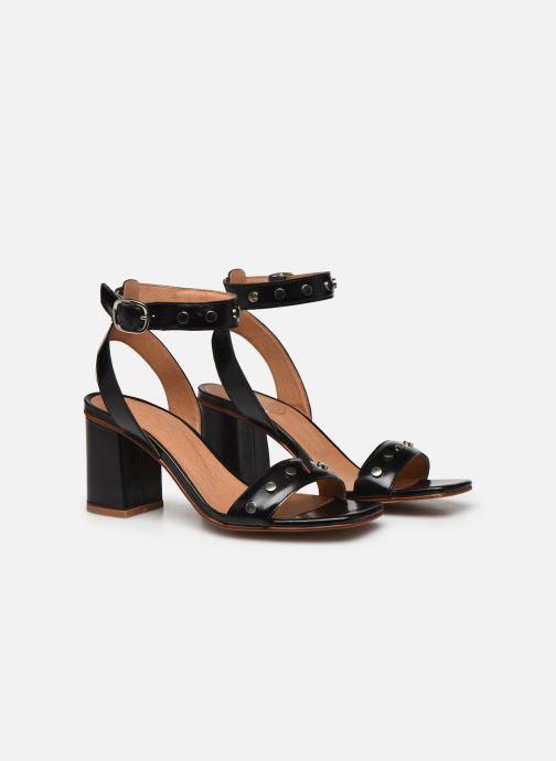 Sandali e scarpe aperte Made by SARENZA Summer Folk Sandales à Talons 2 Nero immagine posteriore