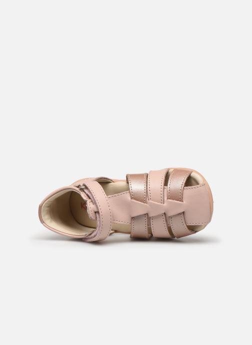 Sandales et nu-pieds Kickers Bigflo-2 Rose vue gauche