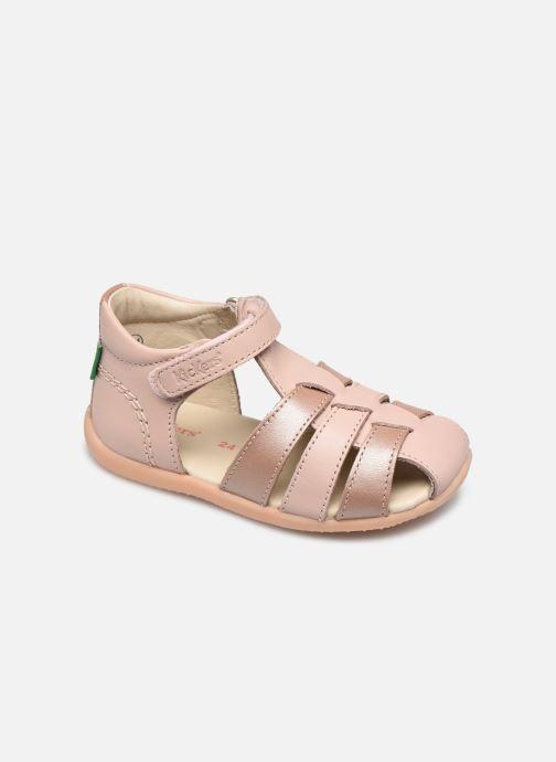 Sandales et nu-pieds Kickers Bigflo-2 Rose vue détail/paire