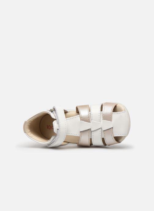 Sandales et nu-pieds Kickers Bigflo-2 Blanc vue gauche