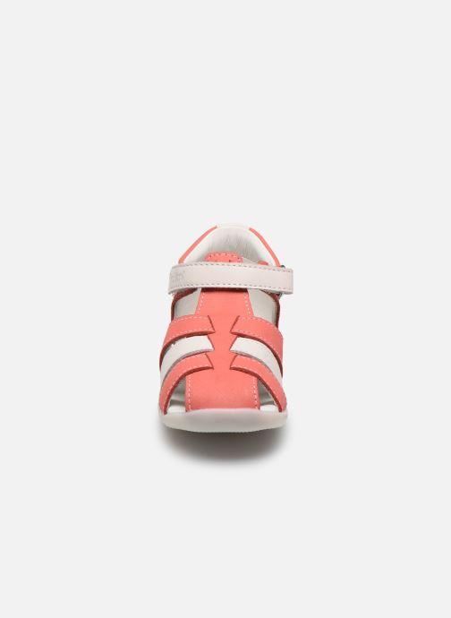 Sandali e scarpe aperte Kickers Bigflo-2 Rosa modello indossato