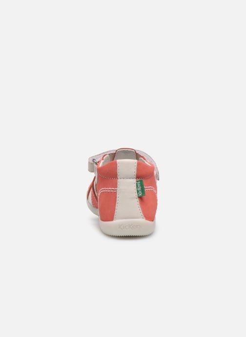 Sandali e scarpe aperte Kickers Bigflo-2 Rosa immagine destra